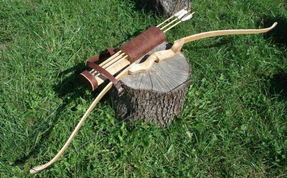 Самодельный лук для охоты