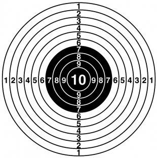 мишень картинка для стрельбы